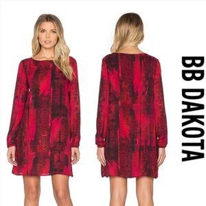 BB Dakota Snake Print Janelle Dress